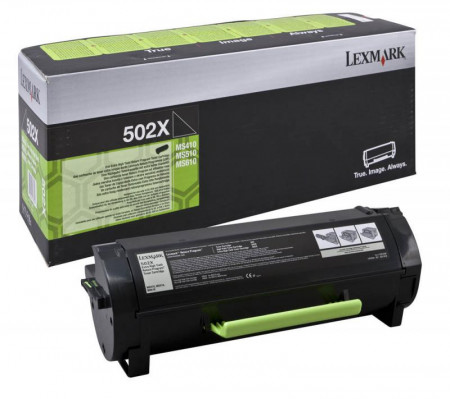 Toner Lexmark 50F2X00, black, 10 k, MS410d , MS410dn , MS415dn , MS510dn , MS510dtn with 3 year Exchange Service , MS610de , MS610dn , MS610dte.