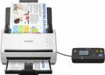 Scanner Epson DS-530N, dimensiune A4, tip sheetfed, viteza scanare: 70 ipm alb-negru si color, rezolutie optica 600x600dpi, ADF Single Pass 50 pagini, duplex, senzor CCD, Scan to e-mail, Scan to FTP, Scan to Print, Scan to folder web, Scan to network fold