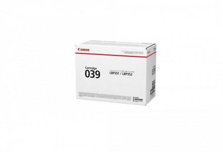 Toner Canon CRG039 , black, capacitate 11k pagini, pentru LBP352X, LBP351X.