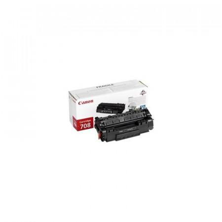 Toner Canon CRG708, black, capacitate 2500 pagini, pentru LBP-3300, LBP-3360