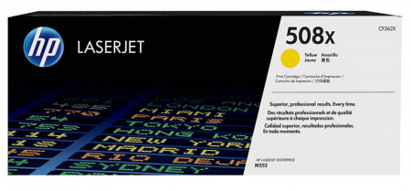 Toner HP, CF362X, Yellow Nr.508X, 9,5K, Original, LaserjetM552DN.