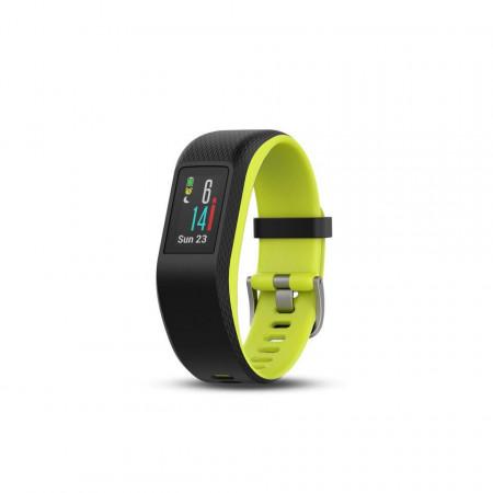 Bratara fitness Garmin vivosport, GPS, Limelight, L