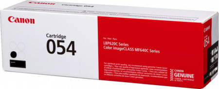 Toner Canon CRG054 black, capacitate 1.5k pagini, pentru LBP62x, MF64x.