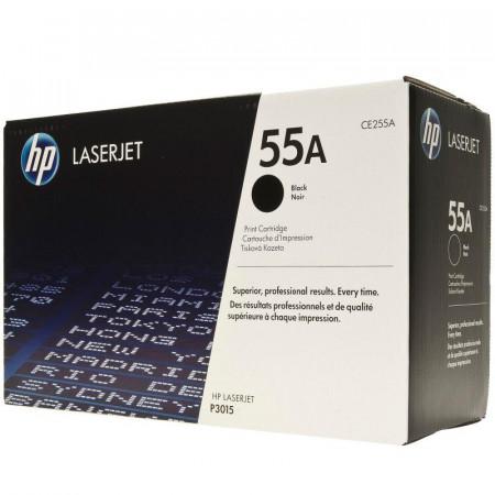 Toner HP CE255A, black, 6 k, LaserJet Enterprise 500 M525DN,LaserJet Enterprise 500 M525F, LaserJet Enterprise 500 MFP M525C,LaserJet P3010, LaserJet P3011, LaserJet P3015, LaserJet P3015D,LaserJet P3015DN, LaserJet P3015X, LaserJet Pro 500 MFP M521Dn, La
