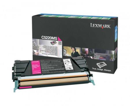 Toner Lexmark C5220MS, magenta, 3 k, C522n , C524 , C524dn ,C524dtn , C524n , C530dn , C532dn , C532n , C534dn , C534dtn , C534n
