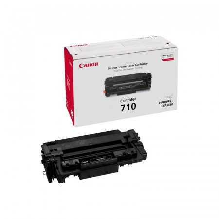 Toner Canon CRG710, black, capacitate 6000 pagini, pentru LBP-3460