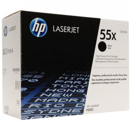 Toner HP CE255X, black, 12.5 k, LaserJet Enterprise 500 M525DN,LaserJet Enterprise 500 M525F, LaserJet Enterprise 500 MFP M525C,LaserJet P3010, LaserJet P3011, LaserJet P3015, LaserJet P3015D,LaserJet P3015DN, LaserJet P3015X, LaserJet Pro 500 MFP M521Dn,