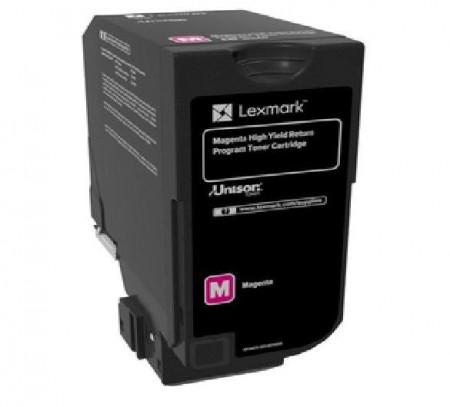 Toner Lexmark 84C2HM0, return program, magenta, 16k ,compatibilcuCX725DE, CX725DHE, CX725DTHE