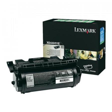 Toner Lexmark X644H11E, black, 21 k, X642e , X644e , X644e withNo Modem , X646dte , X646dte with No Modem , X646e , X646ef