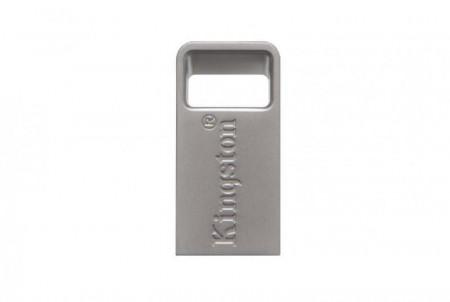 Usb Flash Drive Kingston 128GB DataTraveler Micro 3.1, USB 3.1, 100MB/s read, 15MB/s write, metal