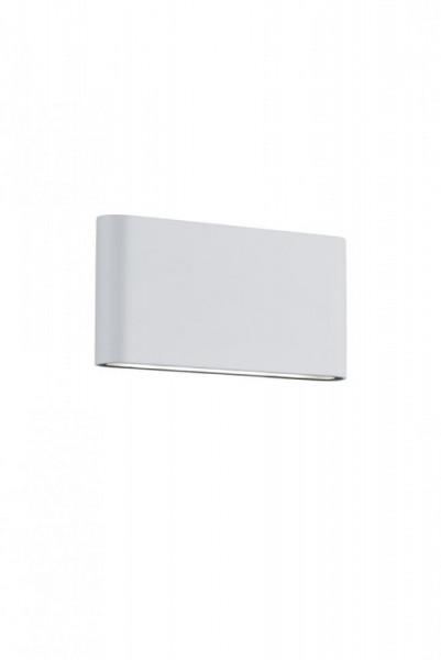 Aplica LED integrat pentru exterior Trio Thames II, 2x4.5W, 230V, lumina calda 3000K, 2x 400 lumeni, durata de viata 30.000 de ore, clasa energetica A+, IP54, dimensiuni 17x9cm, material fonta aluminiu, culoare alb mat