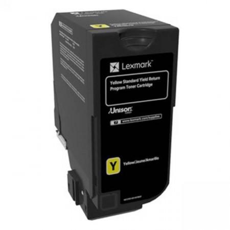Toner Lexmark 84C2HY0, return program, galben, 16k ,compatibil cuCX725DE, CX725DHE, CX725DTHE.
