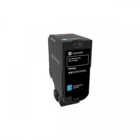 Toner Lexmark 74C0S20, cyan, 7K, compatibil cu CS720de, CS720dte