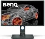 "Monitor 32"" BENQ PD3200Q, CAD/CAM/grafica/ Tehnicolor, VA, 16:9, QHD 2560*1440, LED, 4 ms, 300 cd/m2, 20M:1/ 1000:1, 178/178, 60 Hz, anti- glare, Flicker free, low blue light, HDMI, USB, DVI, DP, mini DP, card reader, VESA, Speakers, pivot, dark gray"