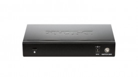 Switch D-Link DGS-1100-08, 8 porturi Gigabit, Capacity 16Gbps, 8K MAC, Desktop, Easy Smart, fanless, metal
