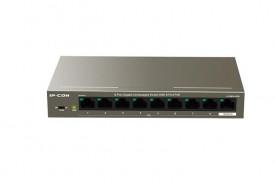 Switch IP-COM G1109P-8-102W, 9-Port 10/100Mbps Desktop PoE Switch with8 Port POE, 8 10/100/1000Mbps RJ45 Ports(Data/PoE), 1 10/100/1000MbpsRJ45 Ports(Data) IEEE 802.3、 IEEE 802.3u、IEEE 802.3ab、IEEE802.3x、IEEE802.3af、 IEEE 802.3at exchange Capaci