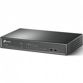 Switch TP-Link TL-SF1008LP, 8 porturi 10/100Mbps, 4 porturi PoE,802.3af PoE, metal, Packet Forwarding Rate: 1.1904 Mpps.
