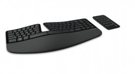 Tastatura Microsoft Sculpt Ergonomic, Wireless, neagra