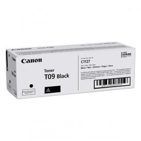 Toner Canon CRG-T09 black, 7.6k pagini, pentru I-sensys, C1127I/IF/P.
