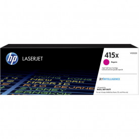 Toner HP 415X W2033X, magenta, 6k, HP Color LaserJet Pro M454dn, HP Color LaserJet Pro M454dw, HP Color LaserJet Pro MFP M479dw, HP Color LaserJet Pro MFP M479fdn, HP Color LaserJet Pro MFP M479fdw, HP Color LaserJet Pro MFP M479fnw.