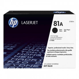 Toner HP CF281A, NR81A, black, 10.5k pag, HP LaserJet MFP M630DN ,LaserJet MFP M630F, LaserJet MFP M630H, LaserJet MFP M630Z.