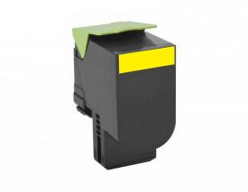 Toner Lexmark 80C2XY0, yellow, 4 k, CX510de , CX510de Statoil ,CX510dhe , CX510dthe