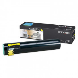 Toner Lexmark C930H2YG, yellow, 24 k, C935dn , C935dtn , C935dttn, C935hdn
