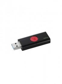 USB Flash Drive Kingston, 32GB, DT106, USB 3.1, Speed: 100MB/s read, Negru