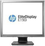 "Monitor 18.9"" HP LED EliteDisplay E190i, IPS Panel, 1280x1024, 5:4, 8ms, 250cd/mp, 1000:1 static / 30000000:1 dinamic, 178/178, VGA, DVI-D, DisplayPort, Anti-Glare, culoare neagra"