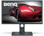 """Monitor 32"""" BENQ PD3200U, 4K UHD, 3840x2160, IPS, 16:9, 4 ms, 350 cd/m2, 178/178, 1000:1, anti glare, DP, HDMI, mini DP, USB, card reader, headphone jack, speakers, VESA, Flicker free, Low Blue Light, pivot, culoare gri"""