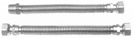 Racord Flexibil Inox pt Gaz (RO) / D[inch]: 1/2; L[cm]: 30-60; C: FI-FI