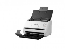 Scanner Epson DS-770, dimensiune A4, tip sheetfed, viteza scanare: 45ppm, rezolutie optica 600x600dpi, ADF 100 pagini, duplex, Fiabilitate ciclu de lucru zilnic 5.000 Pagini, Scan to Email, Scan to FTP, Scan to Microsoft SharePoint®, Scan to Print, Scan