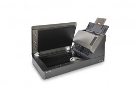 Scanner Xerox DocuMate 5540, flatbed, color, A4, 40 ppm / 80 ipm @ 200 dpi, rezolutie optica 600 dpi, sensor CCD 24 biti color, 8 biti alb- negru, duplex,ADF 70 coli, Visioneer, Twain,ISIS, WIA driver, USB, volum maxim 5000 pagini/zi.