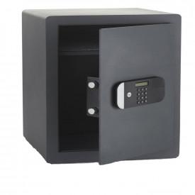 Seif de maxima securitate Yale, 520x350x360 mm YSEM/520/EG1; Caracteristici: Ușa tăiată cu laser-întărită cu placă armată anti- forare; Mecanism deschidere ușă automat; Încuietoare motorizată cunivel de securitate ridicat; Blocare timp de 1m