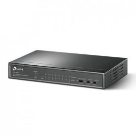 Switch TP-Link TL-SF1009P, 9 porturi 10/100Mbps, 8 porturi PoE, metal.