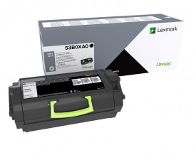 Toner Lexmark 53B0XA0, black, High Yeld 45 k, CompatibilitateMX718de, MS818dn.