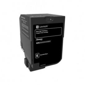 Toner Lexmark 74C2HK0, black, 20 k, CS720de / CS720dte / CS725de/ CS725dte