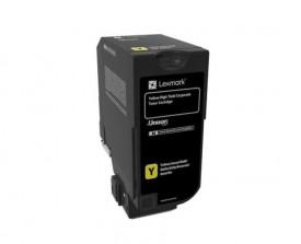 Toner Lexmark 84C2HYE yellow, 16k ,compatibil cu CX725de,CX725dhe, CX725dth