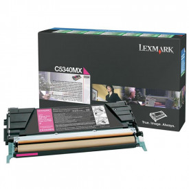 Toner Lexmark C5340MX, magenta, 7 k, C534dn , C534dtn , C534n