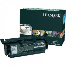 Toner Lexmark X651H11E, black, 25 k, X651de , X652de , X654de ,X654de Statoil , X656de , X656dte , X658dfe , X658dme , X658dtfe ,X658dtme