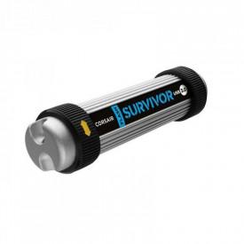 USB Flash Drive Corsair, 64GB, Survivor Ultra Rugged, USB3.0, argintiu/negru
