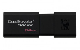 USB Flash Drive Kingston 64 GB DataTraveler D100G3, USB 3.0, black
