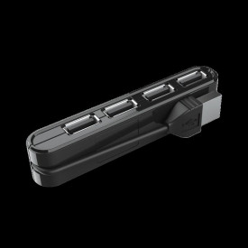 Adaptor Trust Vecco Mini 4 Port USB 2.0 Hub