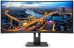 "Monitor 34"" PHILIPS 346B1C, VA, WLED, UWQHD 3440x1440, Anti-Glare, 2H, Haze 25%, curbat 1500R, 21:9, 100 Hz, 5 ms, 300 cd/mp, 3000:1, 178/178, LowBlue Mode, EasyRead, Adaptive sync, DP, HDMI, USB- C, RJ45: Ethernet LAN up to 1G, boxe 2*5W, PIP/PBP, VESA 1"