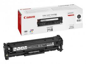 Toner Canon CRG718BK, black twin pack, capacitate 2x3400 pagini, pentru LBP-7200Cdn