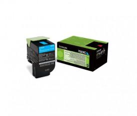 Toner Lexmark 70C2XC0, cyan, 4 k, CS510de , CS510dte