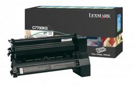 Toner Lexmark C7700KS, black, 6 k, C770dn , C770dtn , C770n ,C772dn , C772dtn , C772n , X772e