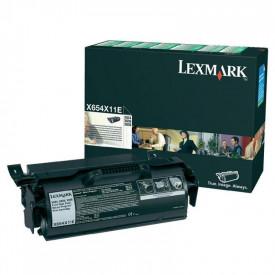 Toner Lexmark X654X11E, black, 36 k, X654de , X654de Statoil ,X656de , X656dte , X658dfe , X658dme , X658dtfe , X658dtme