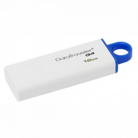 USB Flash Drive Kingston 16 GB DataTraveler DTIG4, USB 3.0, white-blue