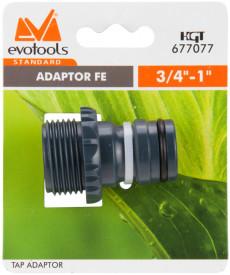 "Adaptor FE 1"" ETS / D[inch]: 3/4 - 1"